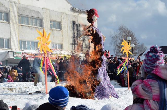 Проводы русской зимы в Лысьве