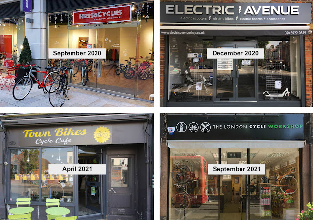 Four bike shops that have opened in Ealing since September 2020