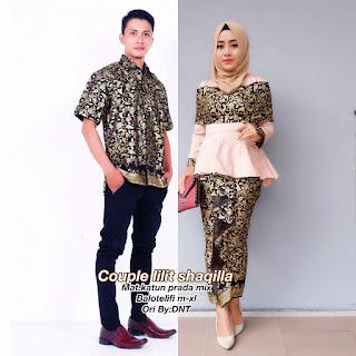 Batik Couple Lilit Shaqilla Kemben