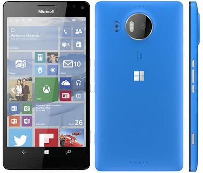 Harga dan Spesifikasi Microsoft Lumia 950 XL