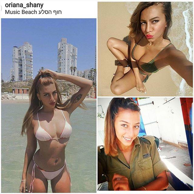 Foto Tentara Wanita Israel Kenakan Bikini, Gemetar Lawan-Nya Juga!