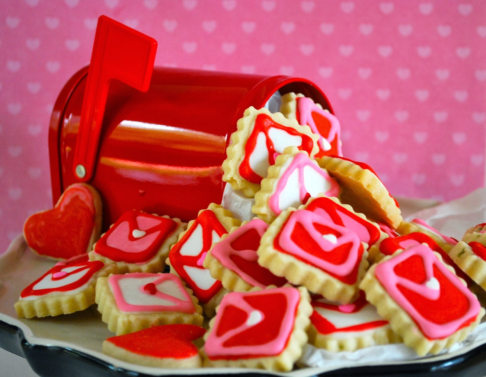 Reinventing Nadine Edible Love Letters Valentine S Day Decorated