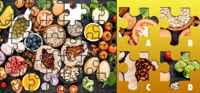 Be Quizzed Food Puzzle Quiz Answers 100% Score