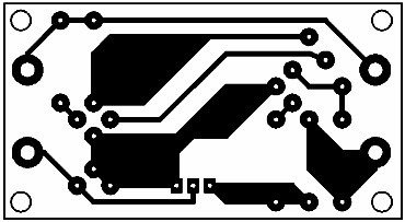 Printed Circuit Power Supply Regulator