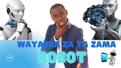 Yanda zaka maida wayarka Robot
