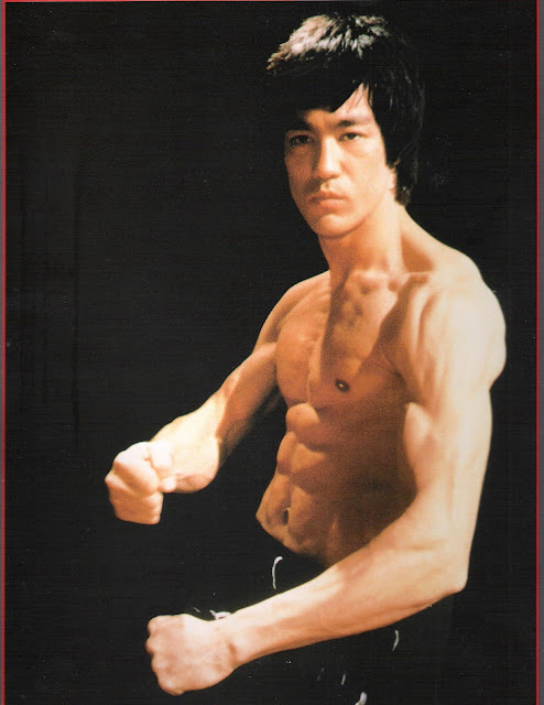 """Rock Body Fitness Weight Lifting Exercises : Bruce Lee-""""Enter The Dragon"""" Body Building Workout ..."""
