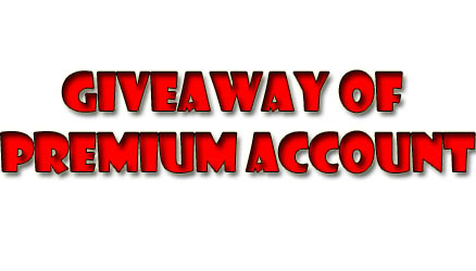 Giveaway of Premium Account