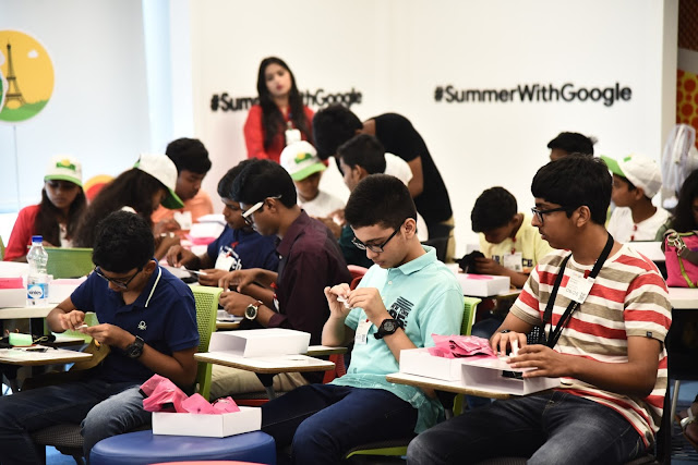 @GoogleIndia First Ever Spectacular #SummerCamp Concludes in #NewDelhi #SummerWithGoogle