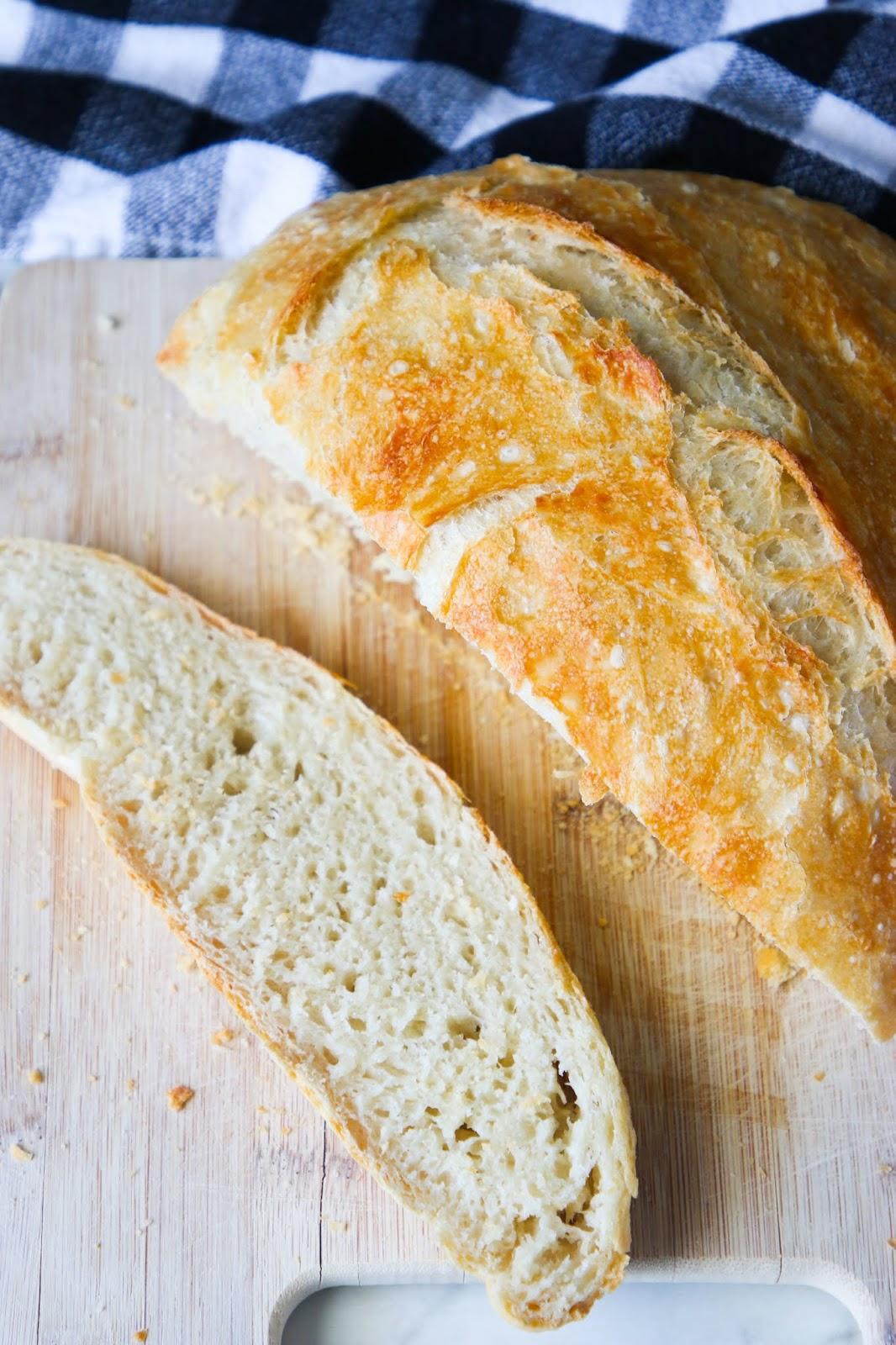 4 ingredient artisan bread recipe.