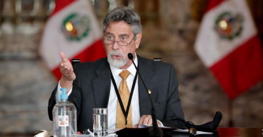 MENSAJE A LA NACIÓN: Mensaje Presidencial de Francisco Sagasti (31 Enero 2021)
