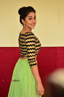 Actress Regina Candra Latest Pos in Green Long Skirt at Nakshatram Movie Teaser Launch  0121.JPG