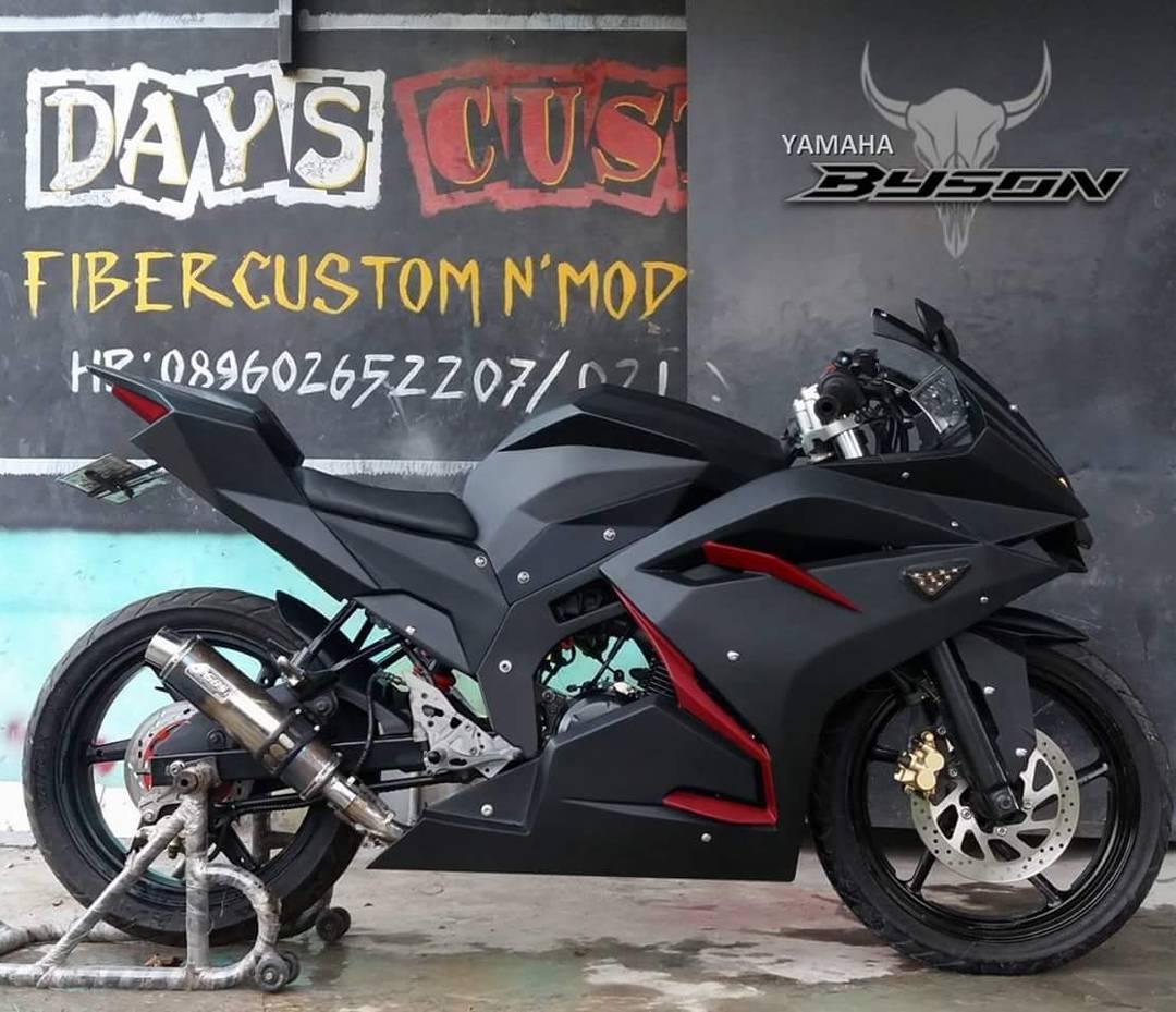 Modifikasi Yamaha Byson Ala All New Honda CBR250RR Custome Otoferycom