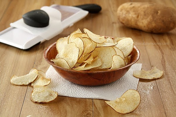 Homemade Salt and Vinegar Potato Chips | Courtesy of Homemade in the Kitchen