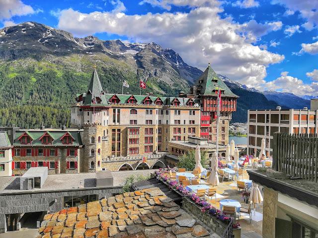 Sankt Moritz Suiza Alpes