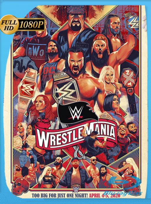 WWE: Wrestlemania 37 Noche 1 (2021) WEB-DL [1080p] Latino [GoogleDrive] Alexander