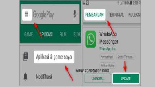 Update Aplikasi WhatsApp Agar Masalah Pesan Tidak Masuk Selesai