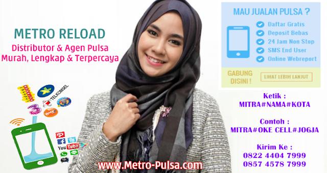 Metro-Pulsa.com Adalah Web Resmi Server Metro Reload Pulsa Murah CV Metro Media Payment