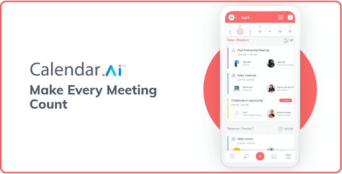 Calendar.AI : An Awesome Business Calendar & Scheduling App for Pros