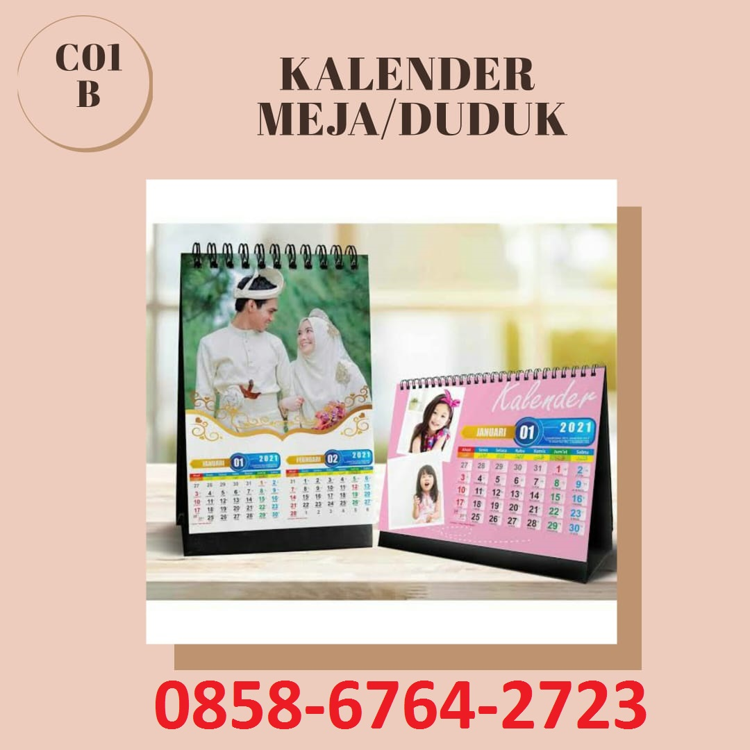 085867642723 Cetak Kalender Blangko/Sablon di Magelang-Yogyakarta.