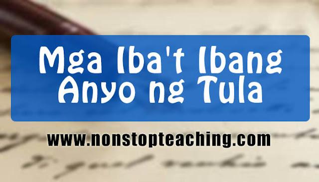 Mga Iba't Ibang Anyo ng Tula