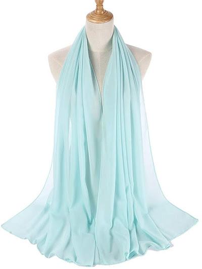 Chiffon Head Scarves Hijab Shawls Pashmina