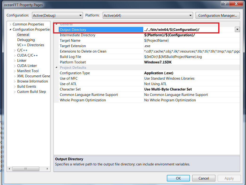Faram's Website: Building CUDA SDK Samples with Visual C++ 2010 Express