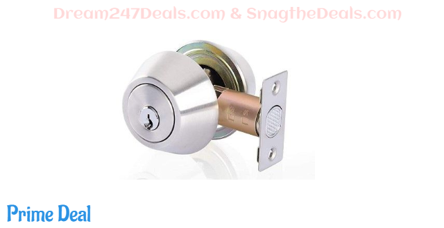 37% off Double Cylinder Deadbolt Keyed