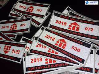 Vehicle Reflective Stickers - Southville Subdivision