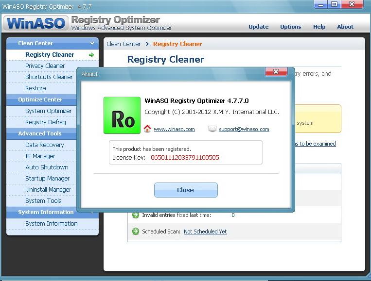 Winaso registry optimizer version 2 8 keygen