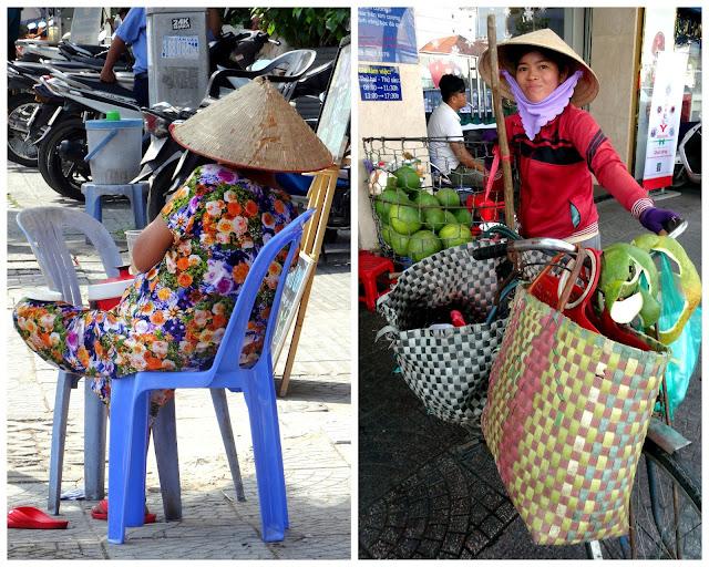 Ben Thanh market ladies