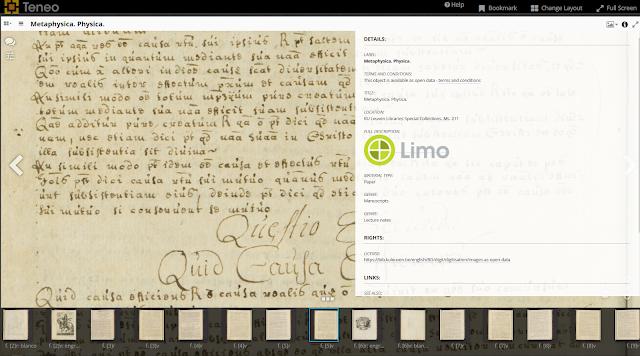 IIIF voorbeeld KU Leuven Bibliotheken Bijzondere collecties
