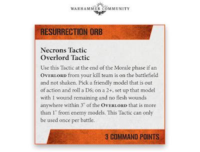 Tácticas coandantes Necrones kill Team