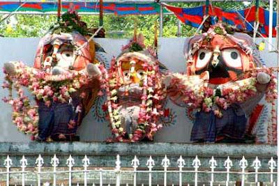 Bathing Ceremony at Puri Jagannath Temple