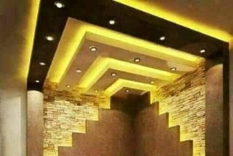 55 Modern Pop False Ceiling Designs For Living Room Pop Design For | Staircase False Ceiling Design | Hallway | Office | Duplex | Veneer Design | Simple