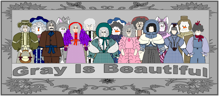 "Thanks For Visiting The ""Gray Is Beautiful"" Blog!  We Hope You Enjoyed Your Visit!"