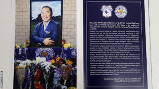 Leicester tributes: Fans and players
