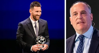 'In my opinion, he's well paid': La Liga president see nothing wrong with Messi contract