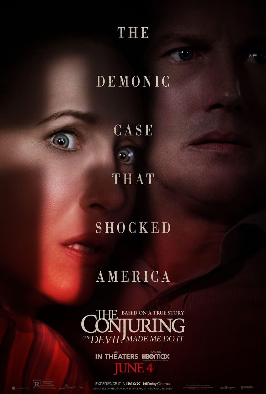 Warner Bros показала первый трейлер фильма ужасов «Заклятие 3: По воле дьявола» - Постер