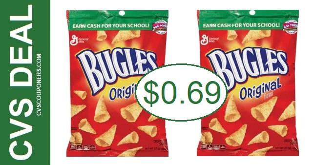 Cheap Bugles Corn Snacks at CVS 7-5-7-11