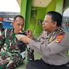 TNI dan Polri, Utamakan Kebersamaan Dilapangan
