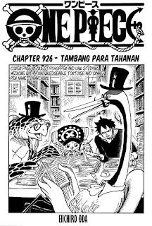 Update! Baca Manga One Piece Chapter 926 Full Sub Indo