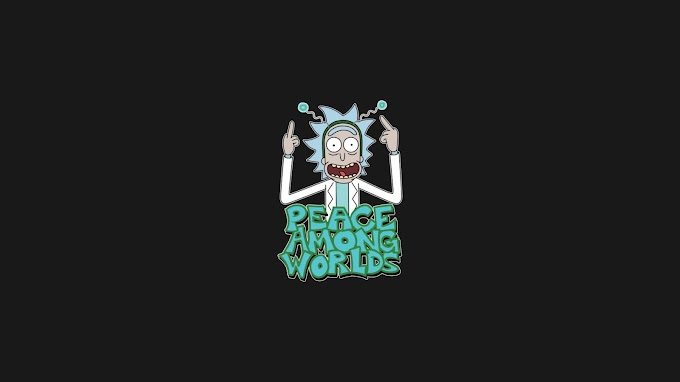 Paz Entre Os Mundos Rick and Morty