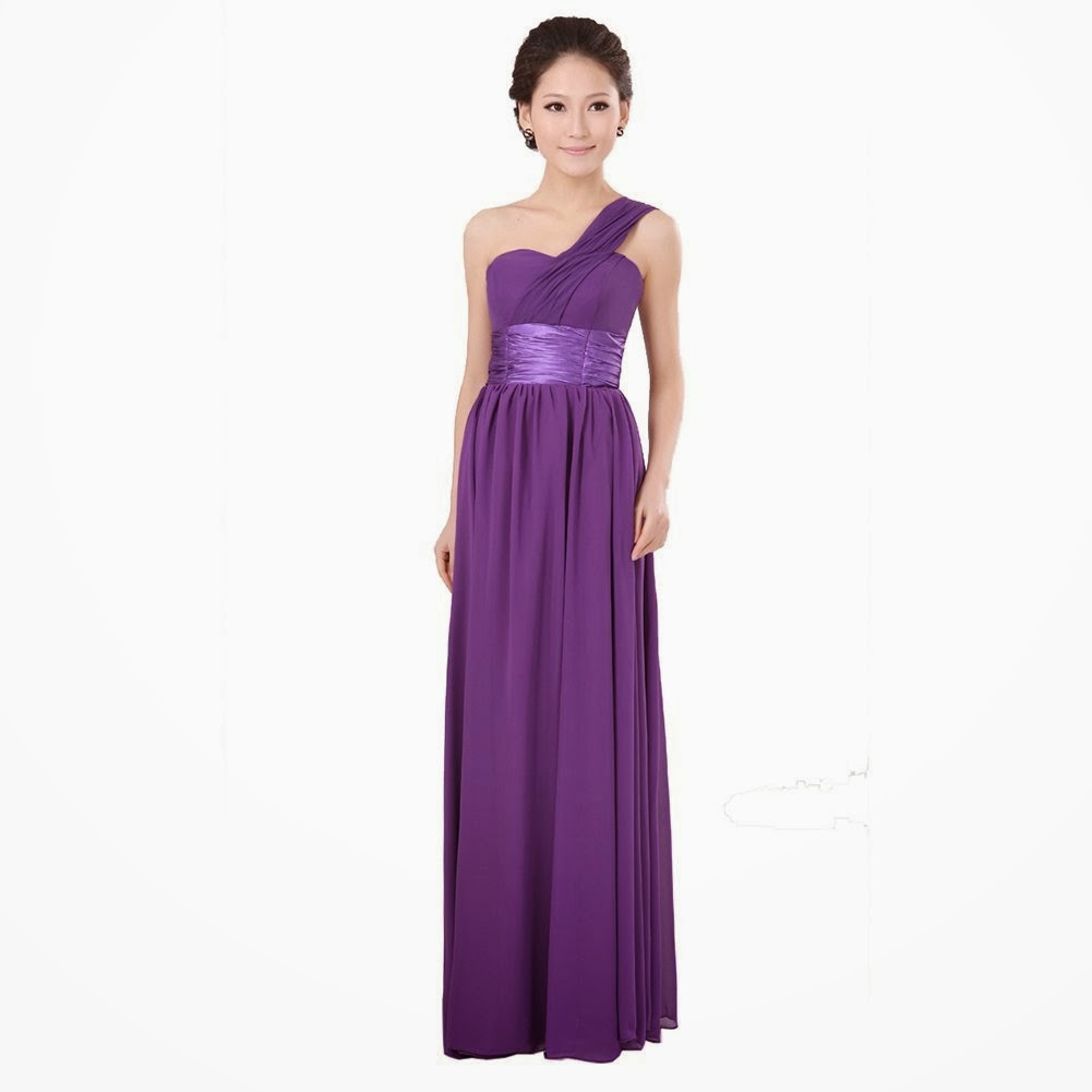 Purple Junior Bridesmaid Dress | dark purple junior ...