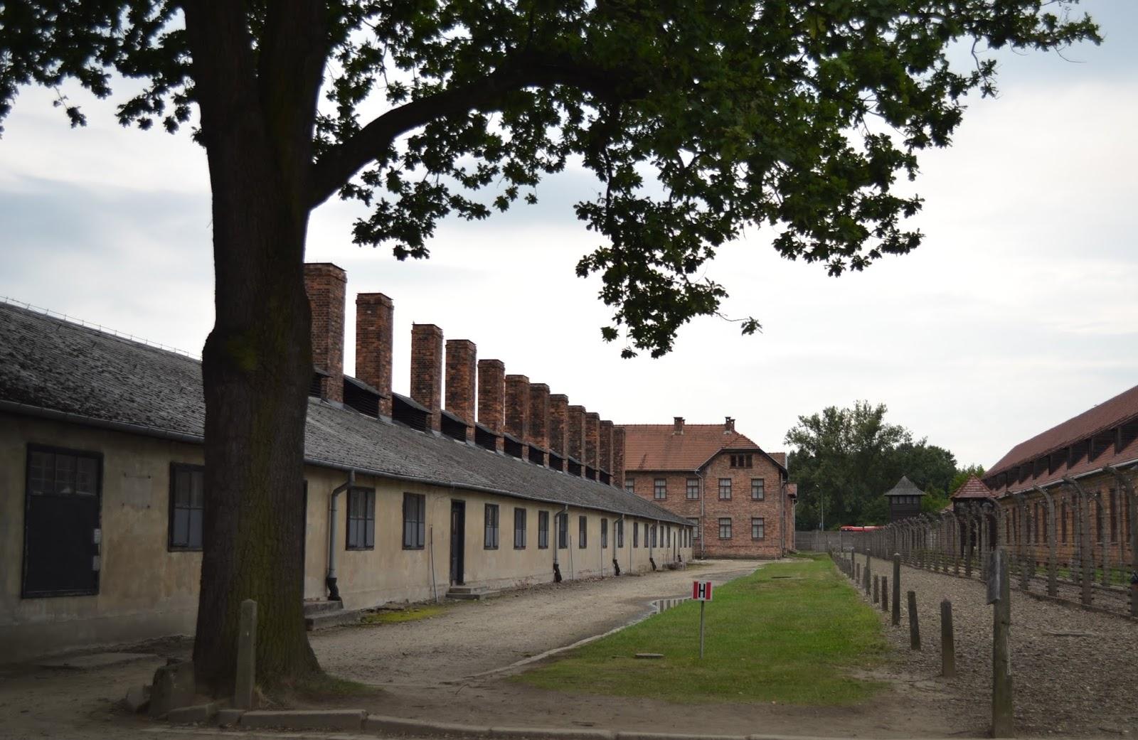 Auschwitzi koncentrációs tábor Lengyelországban
