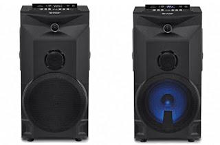 Speaker Bluetooth Sharp Pro Series CBOX PRO10UBB