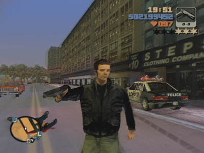 Grand Theft Auto 3 (PS2) 2001