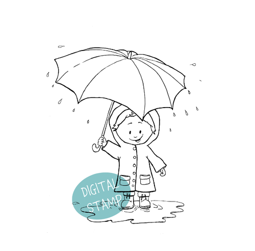 http://gerdasteinerdesigns.com/all-digital-stamps/kid-with-umbrella-digital-stamp