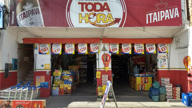 Alagoinhas: Supermercado Toda Hora o que vende mais barato no Jardim Petrolar, tem ofertas especias neste fim de semana