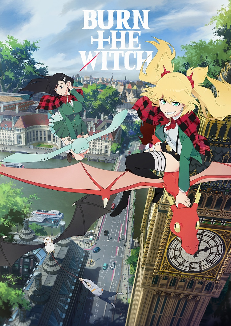 Film Anime BURN THE WITCH Akan Segera Rilis