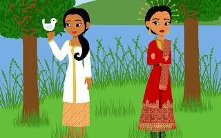 dongeng bawang merah dan bawang putih bahasa indonesia